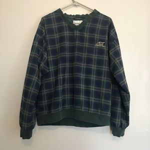Vintage plaid golf jacket